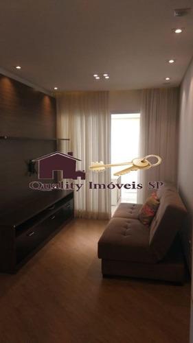 apartamento para aluguel, 2 dorms, mobiliado, aluguel r$2.200,00 - qy4050