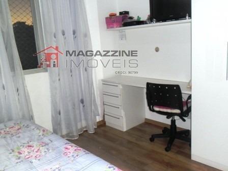apartamento para aluguel, 3 dormitórios, campo grande - são paulo - 2181