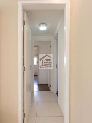 apartamento para aluguel, 3 dormitórios, granja julieta - são paulo - 742