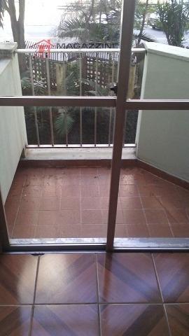 apartamento para aluguel, 3 dormitórios, jardim marajoara - são paulo - 2551