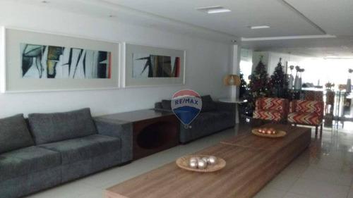 apartamento para aluguel, 3 quartos 1 suíte  em boa viagem - ap0807