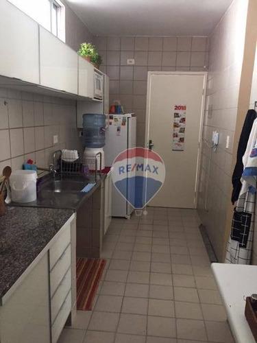 apartamento  para aluguel, 3 quartos, 73 m² em boa viagem - ap0803