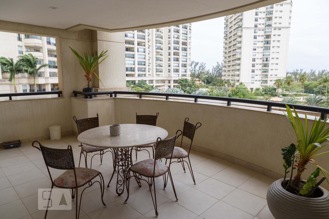 apartamento para aluguel - barra da tijuca - marapendi, 5 quartos,  296 - 892859044