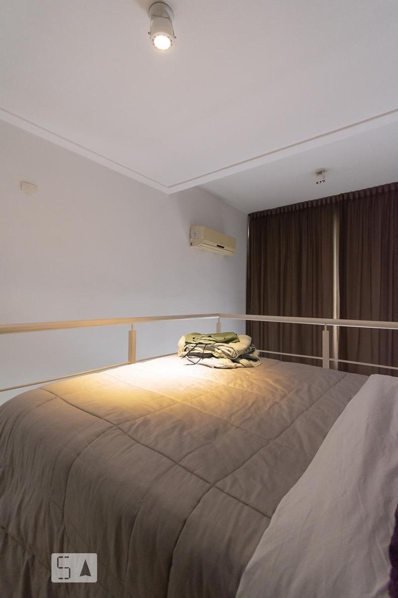 apartamento para aluguel - brooklin, 1 quarto,  40 - 893096340