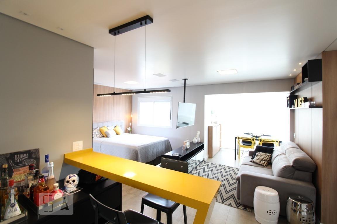 apartamento para aluguel - brooklin, 1 quarto,  49 - 893087526