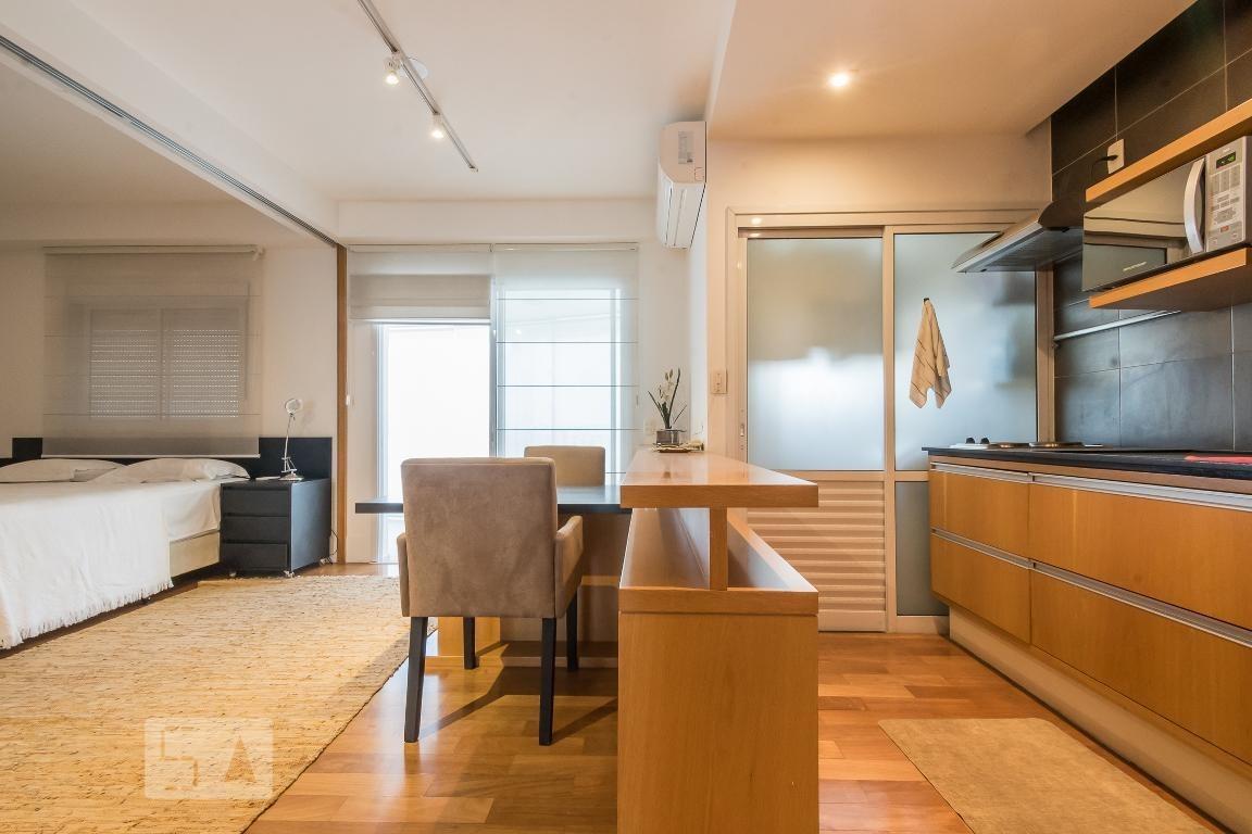 apartamento para aluguel - brooklin, 1 quarto,  53 - 893083718