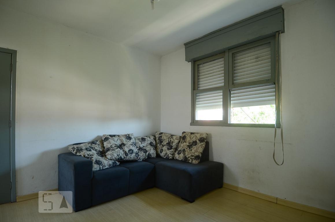 apartamento para aluguel - camaquã, 1 quarto,  44 - 893028442