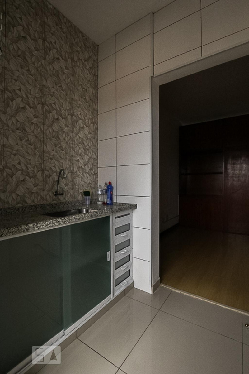 apartamento para aluguel - centro, 1 quarto,  43 - 893016520