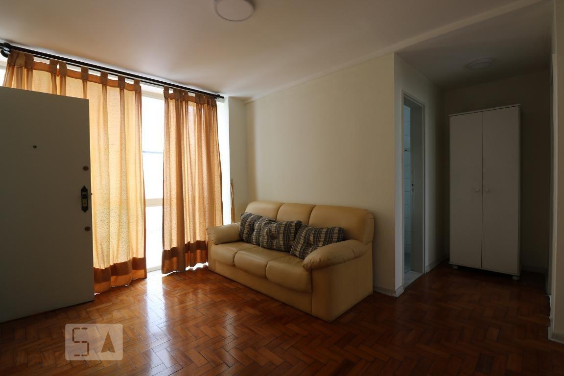 apartamento para aluguel - centro, 1 quarto,  48 - 893020459