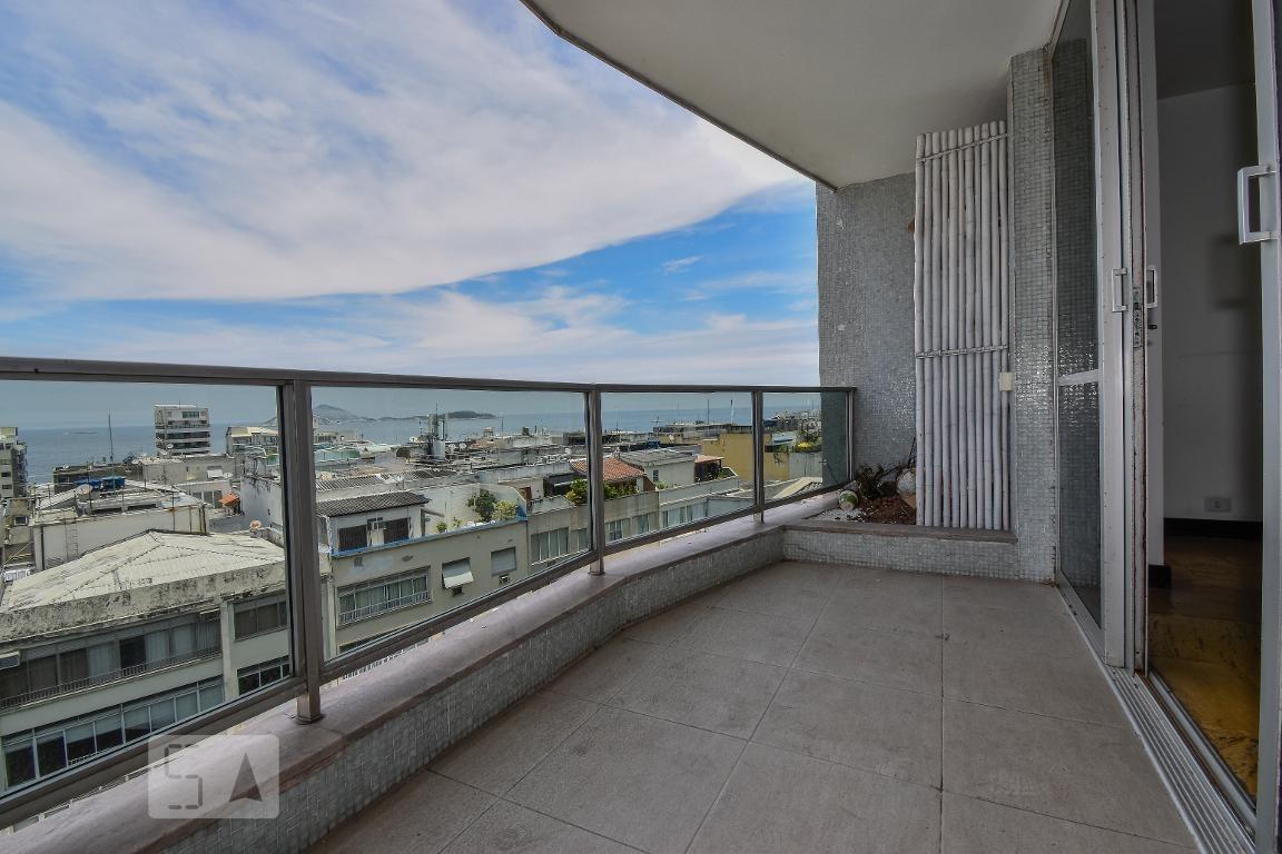 apartamento para aluguel - ipanema, 3 quartos,  180 - 893019474