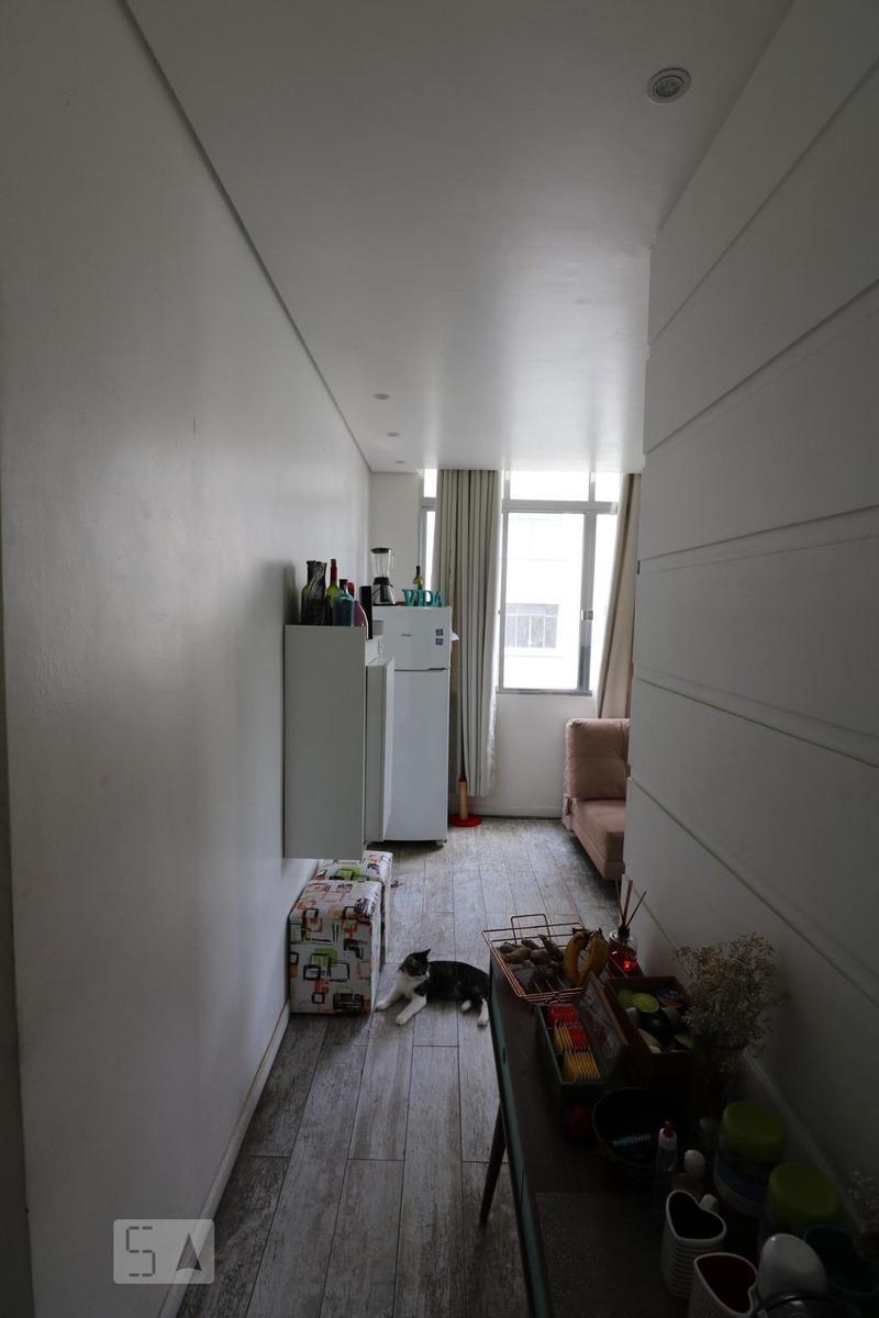apartamento para aluguel - santa cecília, 1 quarto,  32 - 893014022