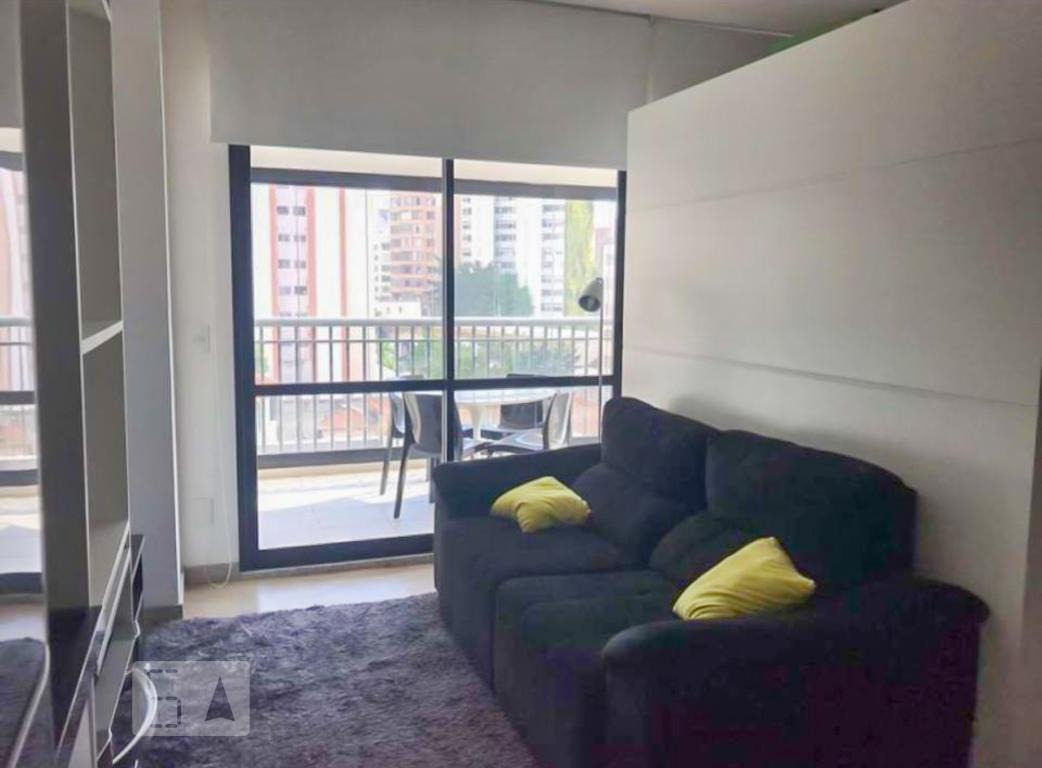 apartamento para aluguel - santa cecília, 1 quarto,  42 - 893062518