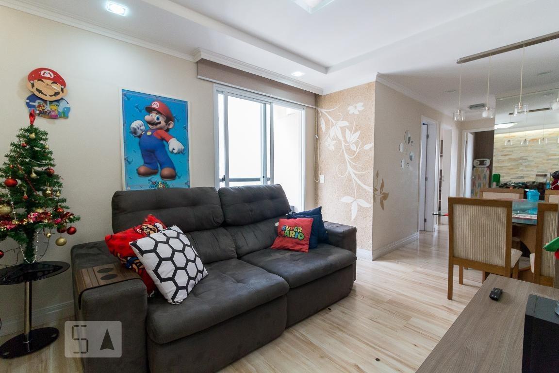 apartamento para aluguel - vila augusta, 3 quartos,  63 - 893012419