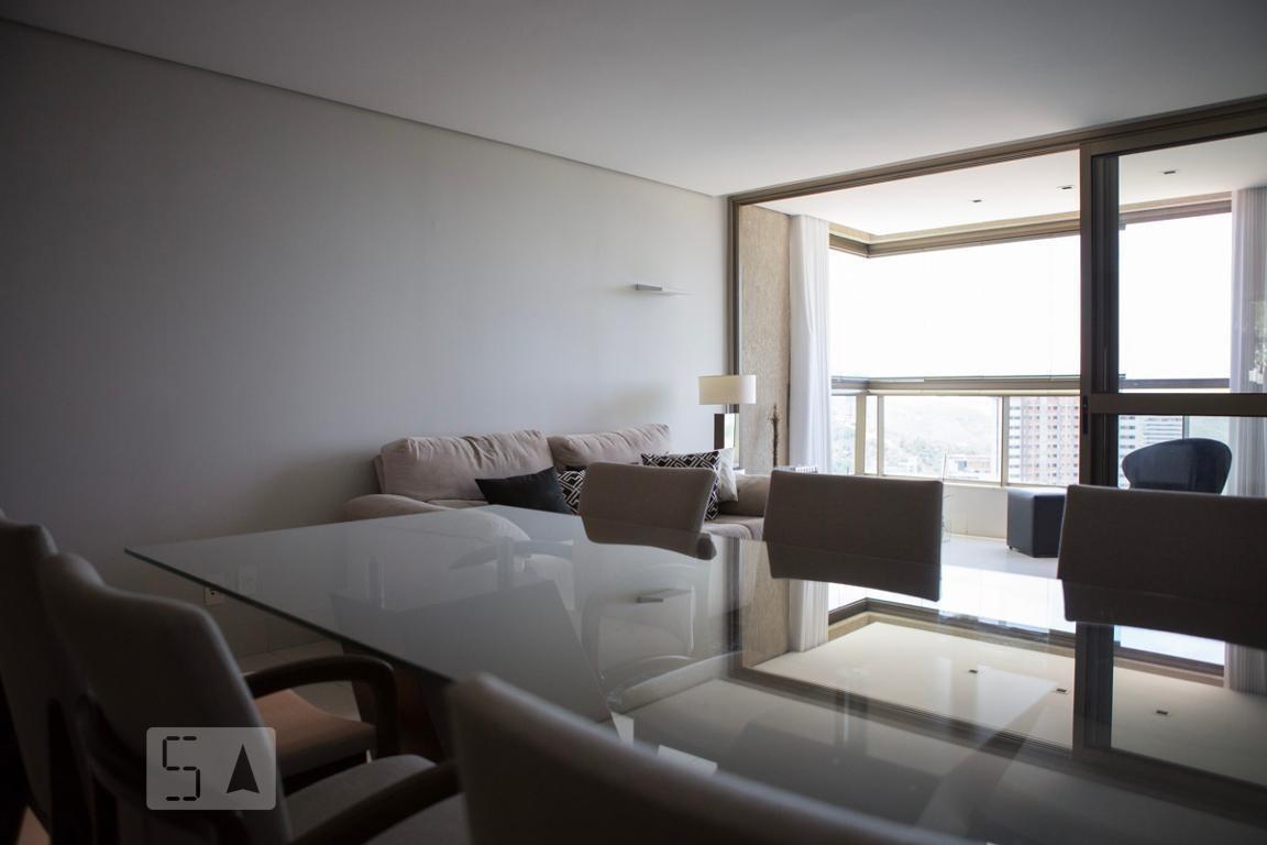 apartamento para aluguel - vila da serra, 2 quartos,  90 - 893014556