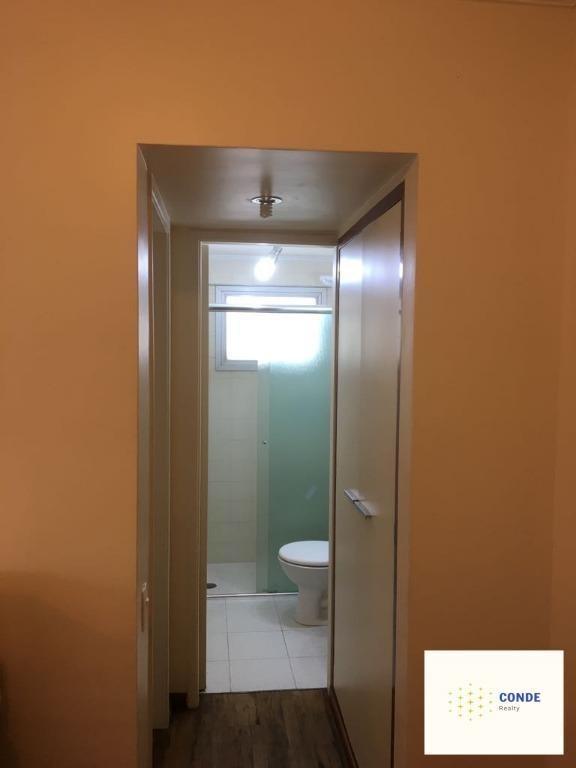apartamento para comprar com 1 dormitório, em moema, são paulo - ap24872