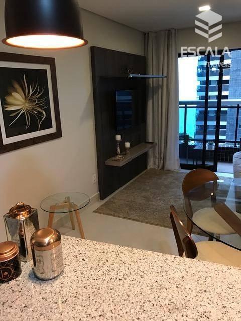 apartamento para locação, 1 quarto, meireles, beira mar, com internet e tv a cabo - ap0491