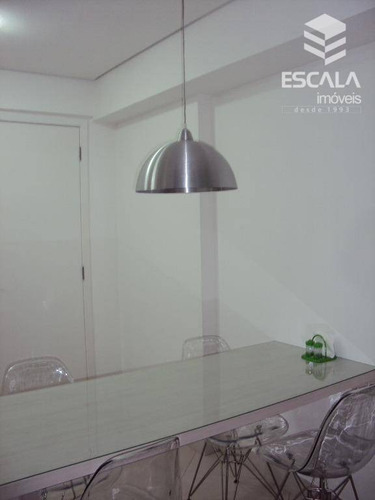 apartamento para locação, 1 quarto, mobiliado, beira mar, com internet / tv a cabo - ap1097