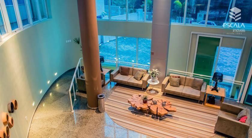 apartamento para locação, 2 quartos, mobiliado, beach class, com internet / tv a cabo - ap0997