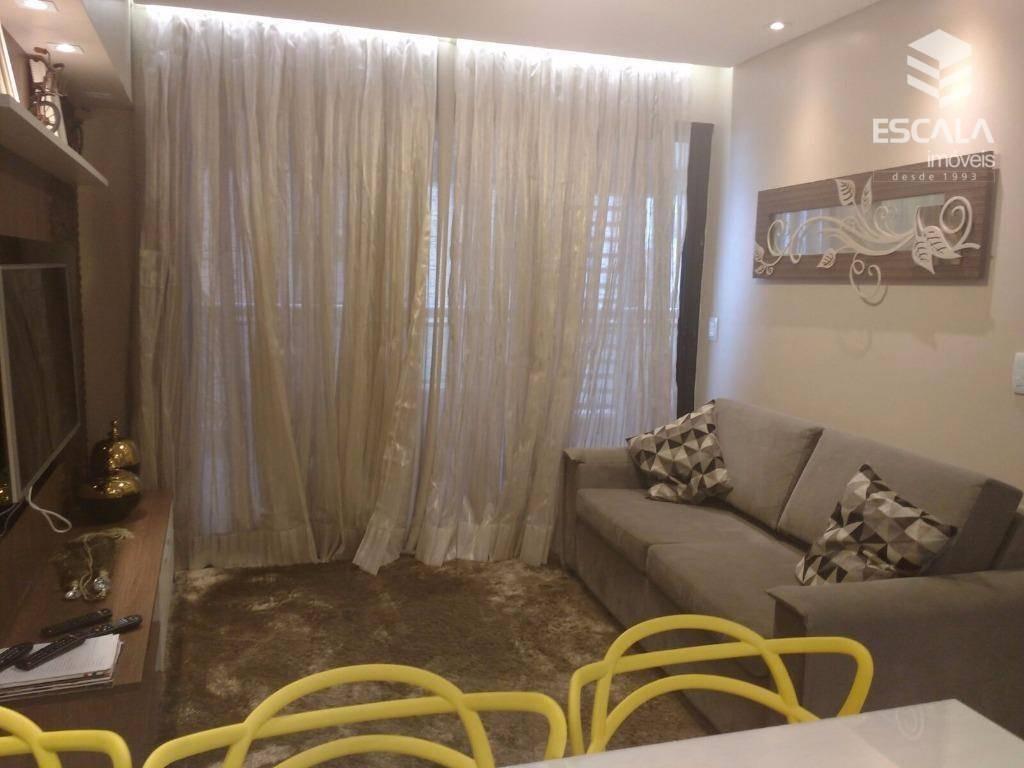 apartamento para locação, 2 quartos, vista mar, com internet / tv a cabo - ap0462