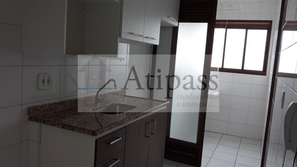 apartamento para locação 65m² - são bernardo -bairro suiço, 2 quartos, 1 vaga coberta! - at892