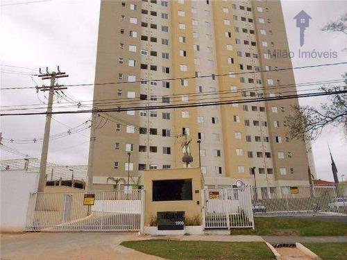 apartamento para locação condomínio vida plena sorocaba - 2 dormitórios e 1 banheiro - ap0395