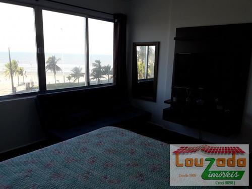 apartamento para locação em peruíbe, centro, 1 dormitório, 1 banheiro, 1 vaga - 2524