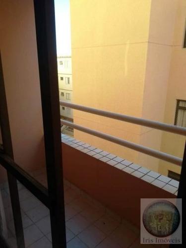 apartamento para locação em sorocaba, vila jardini, 3 dormitórios, 1 suíte, 2 banheiros, 1 vaga - 110818