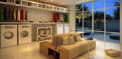 apartamento para locação na ponta da praia - ap1287