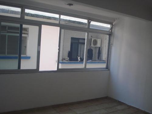 apartamento para locação no josé menino, com 2 dormitórios, 93 m², sem garagem e próximo à praia - ap1155