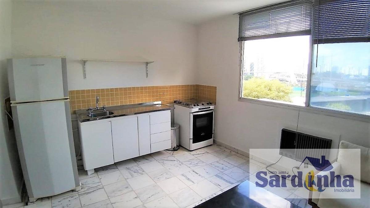 apartamento para locação - vila tramontano - sp - 4026