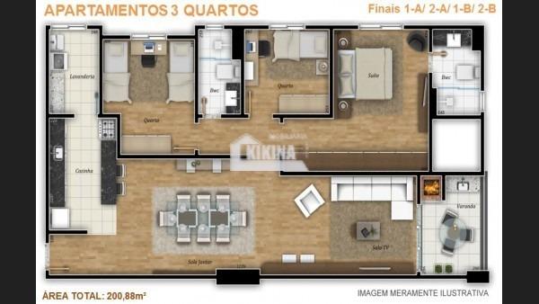 apartamento para venda - 02950.5466