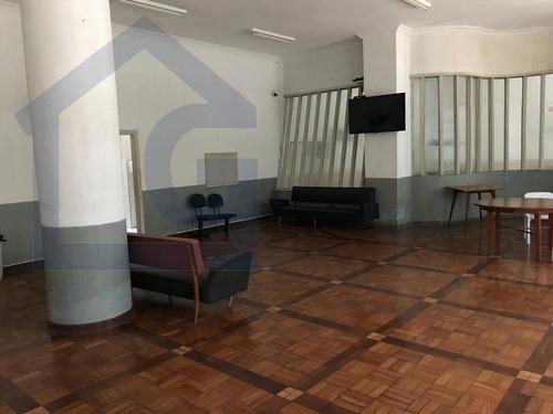 apartamento para venda, 1 dormitórios, aparecida - santos - 3069