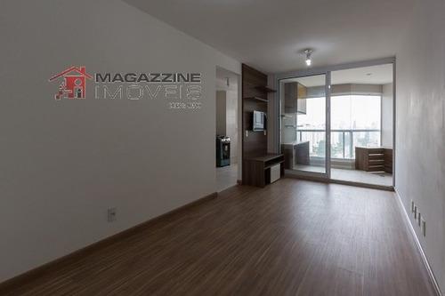apartamento para venda, 1 dormitórios, campo belo - são paulo - 2444