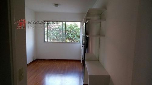 apartamento para venda, 1 dormitórios, campo belo - são paulo - 2604