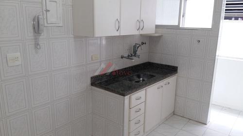 apartamento para venda, 1 dormitórios, campo grande - santos - 797