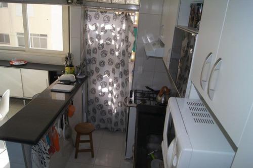 apartamento para venda, 1 dormitórios, higienópolis - são paulo - 6584