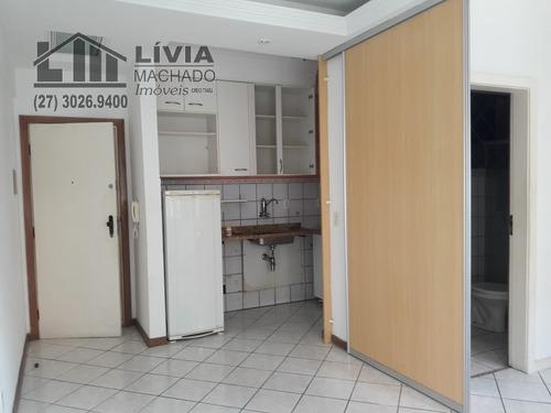 apartamento para venda, 1 dormitórios, jardim camburi - vitória - 1683