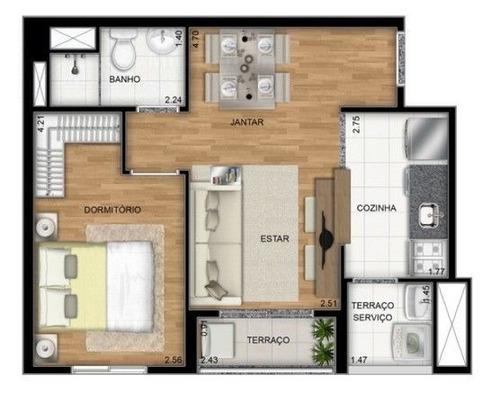 apartamento para venda, 1 dormitórios, liberdade - são paulo - 1414