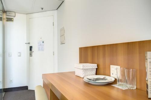 apartamento para venda, 1 dormitórios, pinheiros - são paulo - 6634