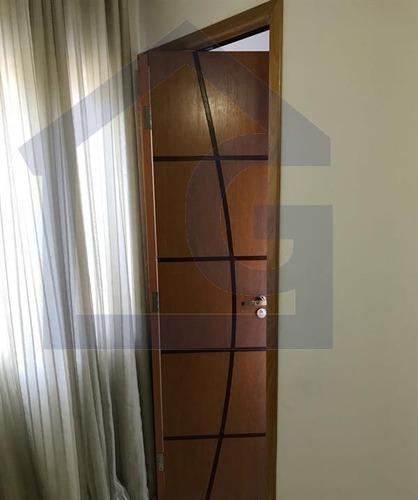 apartamento para venda, 1 dormitórios, taboão - são bernardo do campo - 3455
