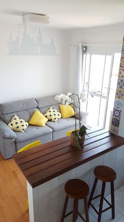 apartamento para venda, 1 dormitórios, vila das mercês - são paulo - 11155