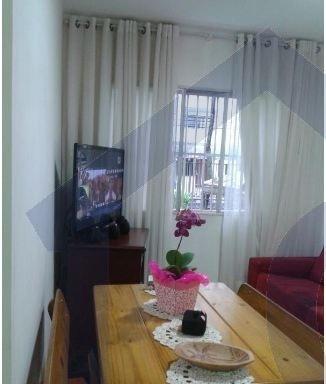 apartamento para venda, 1 dormitórios, vila euclides - são bernardo do campo - 2598