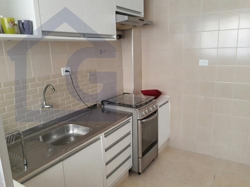 apartamento para venda, 1 dormitórios, vila guilhermina - praia grande - 3018