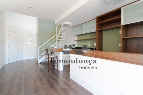apartamento para venda, 1 dormitórios, vila madalena - são paulo - 7588