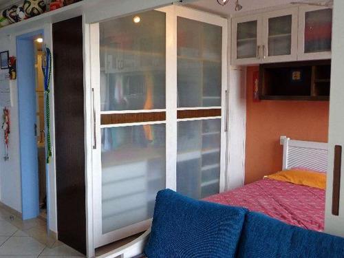 apartamento para venda, 1 dormitórios, vila romana - são paulo - 7253