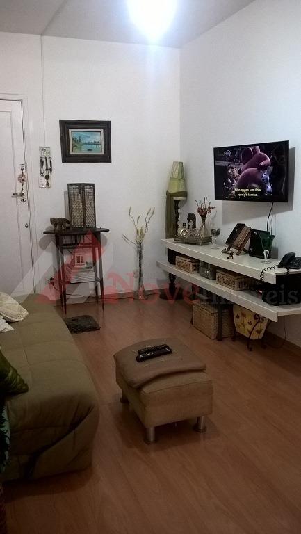 apartamento para venda, 1 dormitórios, vila valença - são vicente - 591