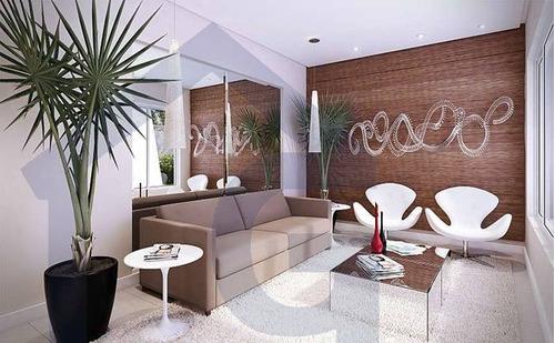 apartamento para venda, 2 dormitórios, assunção - são bernardo do campo - 2810