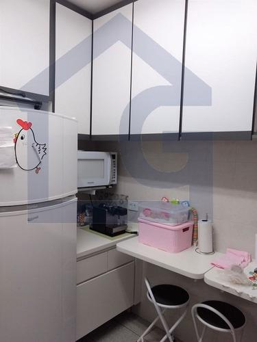 apartamento para venda, 2 dormitórios, assunção - são bernardo do campo - 2968
