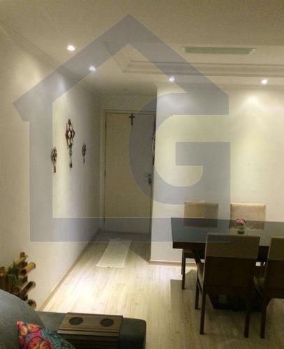 apartamento para venda, 2 dormitórios, assunção - são bernardo do campo - 3464