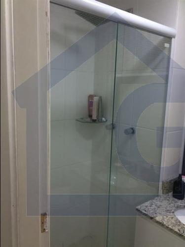 apartamento para venda, 2 dormitórios, campestre - santo andré - 3529